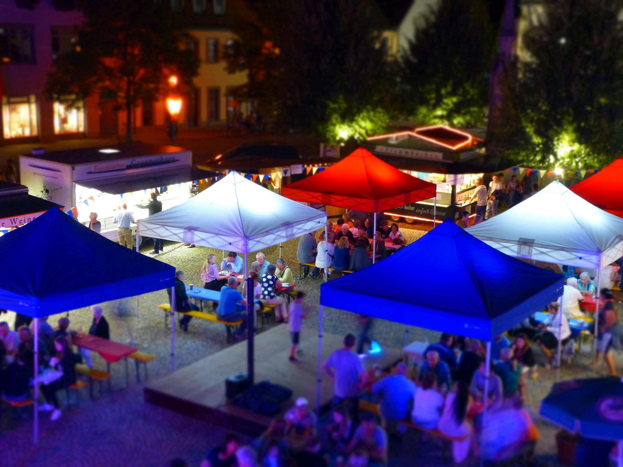 Marktzelt Marktpavillon