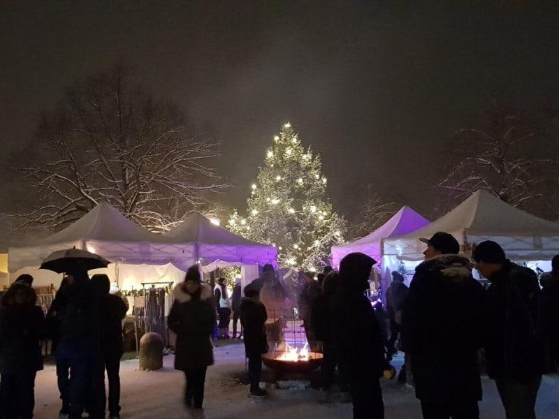 Marktzelt winterfest